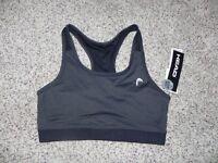 Details about  /Head Sports Bra Size Small Blue Multi-Color Dri Motion Medium Impact NWT $35