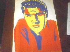 ELVIS PRESLEY  1956  Painting Sketch      1950s  elvis   nice
