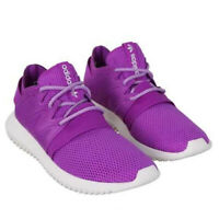 adidas originals Tubular Viral Shock Ladies Trainers Purple Lace Up Womens Shoes