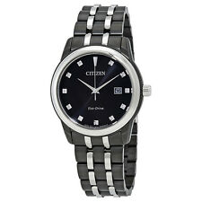Citizen Corso Black Diamond Dial Mens Watch BM7348-53E
