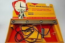 Vintage Kodak Brownie movie camera kit original box W 4 Lamp Movie Light
