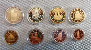 San Marino Pièce de Monnaie Pp (Choisissez Entre : 1 Cent - Et 2008 - 2019)