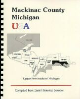 MI Mackinac County/ Island Michigan St. Ignace 1883 Upper Peninsula history/bios