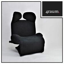Cassina Wink 111 Chaiselounge Sessel Stoff Relax Designer Klassiker Lounge Liege
