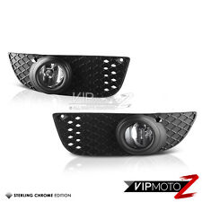 08-12 Mitsubishi Lancer New Replacement Clear Fog Light Lamp w/ Wiring&Switch