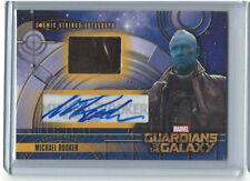 Guardians of the Galaxy MICHAEL ROOKER Autograph Card CSA-4  AUTO RARE