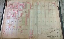 Original 1905 Brownsville Brooklyn New York New Lots Av - Dumont Av Atlas Map