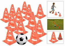 Set of 12 Traffic Marking Cones Kids Football Training Practice Field Markers