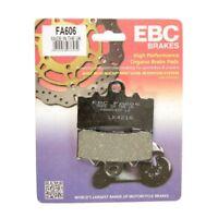KTM DUKE 390 2013 - 2018 EBC ORGANIC FRONT BRAKE DISC PADS FA606