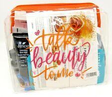 Ulta Talk Beauty to Me Huge Sample Lot plus Cosmetic Bag 33 pieces total