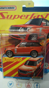 Matchbox Superfast 2018 Range Rover Vogue SE (NG115)