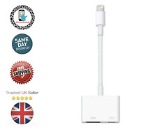 GENERIC Lightning Digital Adaptador AV salida HDMI para Apple iPhone/iPad