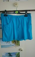 Bright blue skirt size 12