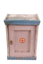 Bel Âge Cabinet Garde-Manger Armoire en Bois Armoire Murale Art Nouveau
