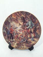 Bradford Exchange Auf Schatzsuche Treasure Hunting Limited Edition Plate