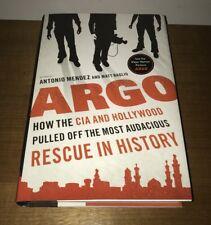 "SIGNED BOOK - Antonio Mendez (TONY) - ""Argo"" Movie HCDJ - Ben Affleck Character"