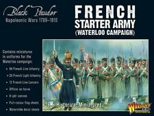 Esercito Francese STARTER WATERLOO-BLACK Powder-WARLORD GAMES -