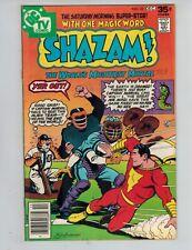 SHAZAM! 32 Captain Marvel vs Mr. Mind!  Mr. Tawny's Big Game! 1977 Fine/VF