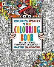 Where's Wally? The Colouring Book by Martin Handford (Paperback, 2016)