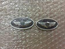 2 pcs Auto Car Steering Wheel Emblem Sticker for Hyundai Genesis Steering Emblem