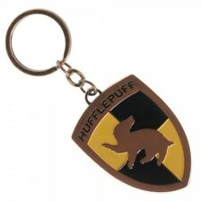 Hufflepuff - Harry Potter House Crest Metal Keychain - New Bioworld Cursed Child