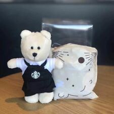 Starbucks China bearista Black Apron Coffee Master Mini bear With Bag