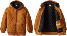 Carhartt Boys Active Taffeta Quilt Lined Jacket Small / 7-8, Brown