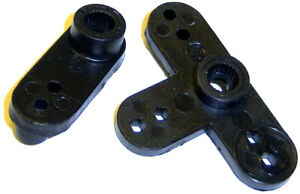 02072 Plastic Servo Horn Arm Single 1 and 3 Point 25T 25 Teeth Tooth HSP RC