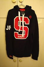 SUPERDRY S JPN HOODY HOODIE JUMPER SWEAT SWEATER SUPER DRY NEW BNWT SIZE XS