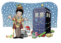 NEW Doctor Who Charity Christmas cards! £6.50 for 10; 100% for charity. FAB!