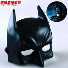 MASCHERA BATMAN THE DARK KNIGHT COSPLAY PVC DURO MASK DC MARVEL COMICS COSTUME 2