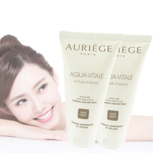 Auriège Paris Aqua Vitale - Crème Nuit peau normale sèche - MULTIPACK 2x50ml