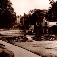 Vintage 1920s RPPC The Fort Gardens Gravesend Park Postcard UK