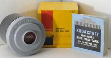 Kodak Roll Film Tank in its box w/ aprons, weight, instructions, 35mm & 120