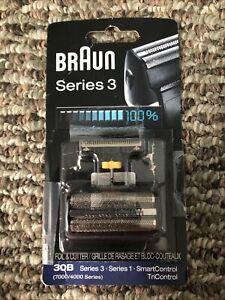 Braun Series 3 30B Cassette Foil & Cutter Pack Replacement Head 7000/4000 Series