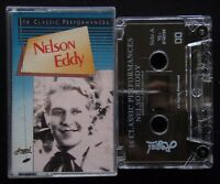 Nelson Eddy - 16 Classic Performances Tape Cassette (C23)