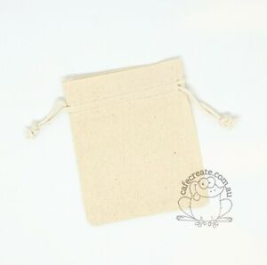Calico Bags Drawstring 20 pack - Small