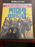 Pitch Perfect 3 (4K Ultra HD Blu-ray Disc ONLY, 2018) No Blu-ray No Digital Copy