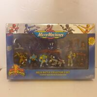 Power Rangers Mega Battle Collector Set Micro Machines sealed and unopened mmpr