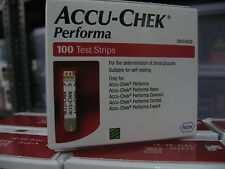 Accu-Chek Performa 100 Test Strips - Longest Expiry: 30 September 2018
