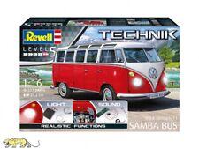 Revell 00455 Volkswagen T1 Samba Bus - Revell Technik - 1:16
