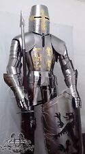 Medieval Knight Suit of Armor Medieval Combat Full Body Armour Suit With Stand