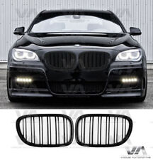 BMW 7 SERIES F01 F02 F03 F04 GLOSS BLACK DOUBLE KIDNEY GRILL GRILLE