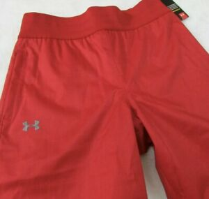Under Armour Storm Coldgear Water Resistant Women Snow Pants Red 1247771 834 S
