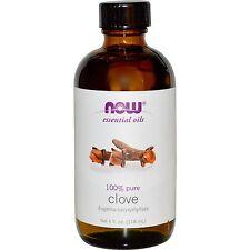 Clove Oil (100% Pure), 4 oz - NOW Foods Essential Oils