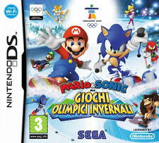 Mario & Sonic at The Olympic Winter Games Nintendo DS Game 3 Boxed Instructions