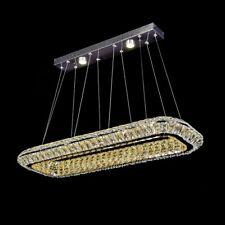 Modern LED Crystal Chandelier Pendant Lamp Ceiling Lighting