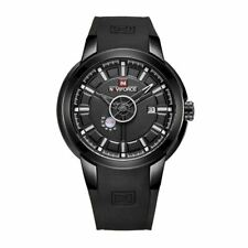 Mens Watch Black Mesh Boys Smart Analogue Watches Business Gift Present UK