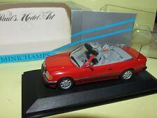 MERCEDES 300 CE 24 Cabriolet Rouge MINICHAMPS 1:43