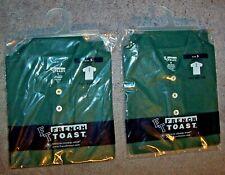 Lot 2 French Toast Uniform Boy 5 Polo Shirt Hunter Short Sleeve Tail Bottom New